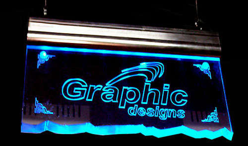 Led Engraved Sign