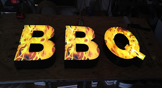 BBQ-Channel-letter
