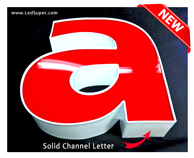 Channel-Letter-Solid-red