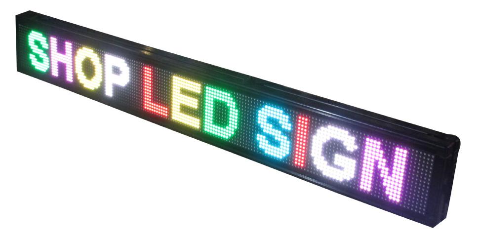 P20 - 3 Color Led Sign