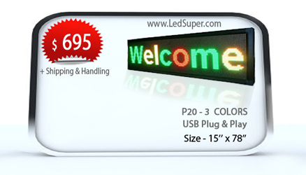 Tri_Color_Led_Message_Scrolling_sign_15x78