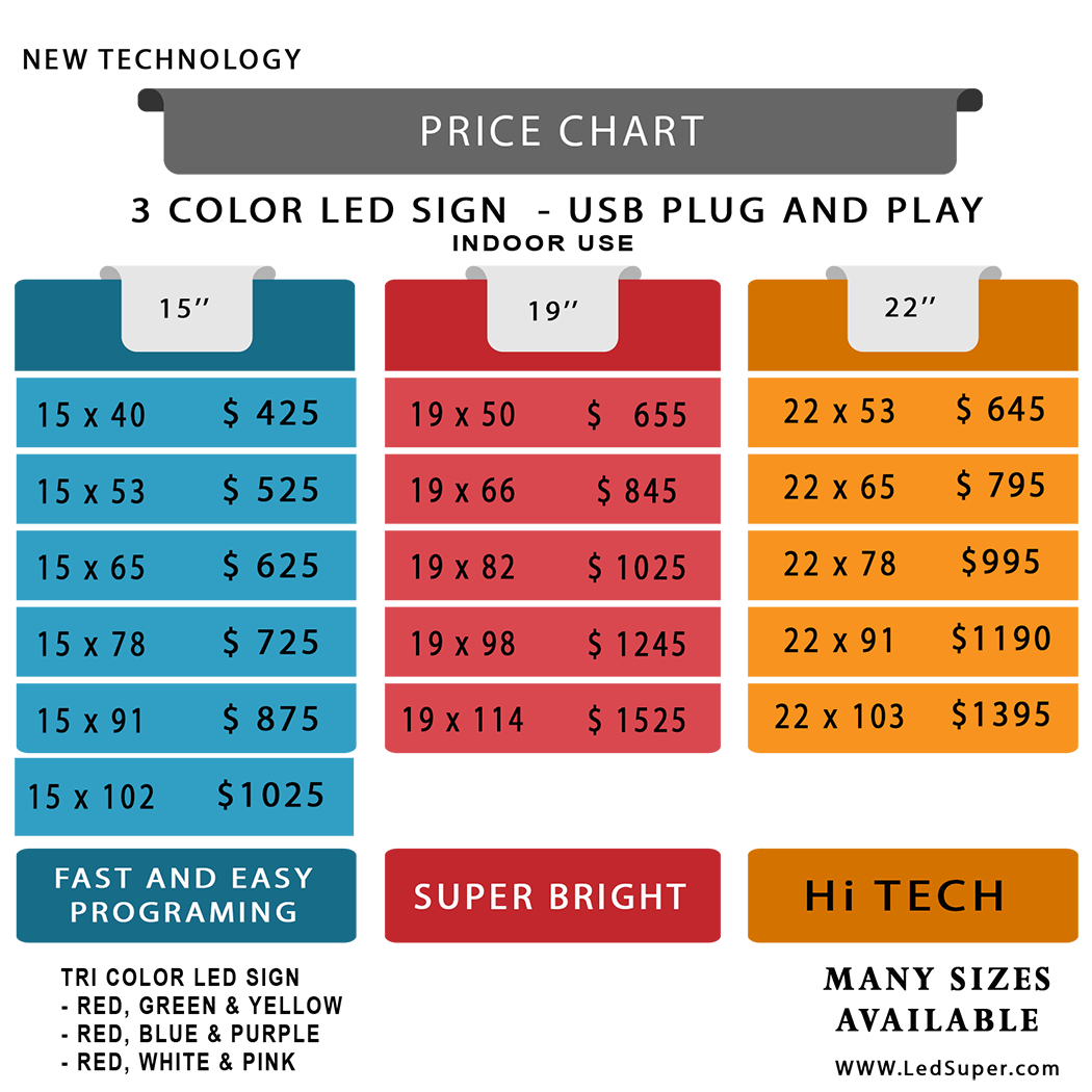 tri-color-LED-SIGNS-USB-price-chart
