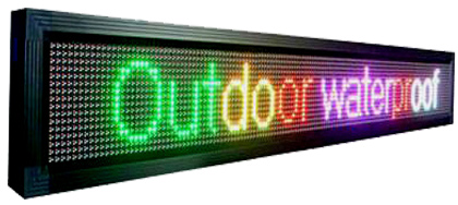 P10 - 7 Color Led Sign